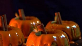Bolo De Abóbora Para Enfeitar Seu Halloween, Fica Muito Bonito!