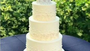Bolo De Camadas Para Casamento, Veja Como O Resultado Ficou Deslumbrante!