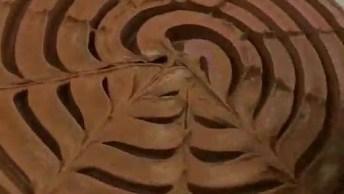 Bolo De Chocolate Com Decoração Fácil De Fazer, Fica Lindo!