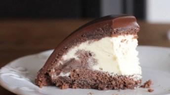 Bolo De Chocolate Com Sorvete, Sem Dúvida A Melhor Receita Do Ano!