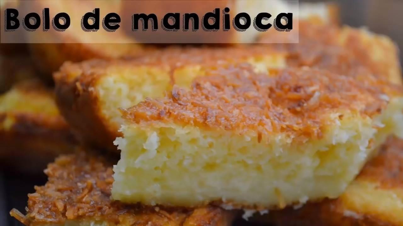 Bolo de Mandioca, perfeito para o café da tarde