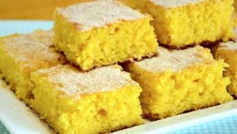Bolo De Milho Para Festa Junina, Uma Receita Incrível, Confira!