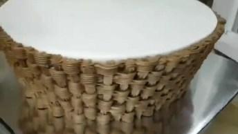 Bolo Em Formato De Cesta De Flor, Mais Um Vídeo Incrível De Bolo Decorado!