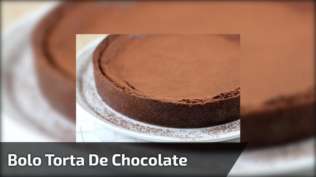 Bolo torta de chocolate