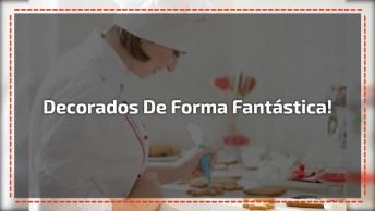 Bolos Decorados De Forma Fantástica, Vale A Pena Conferir E Compartilhar!