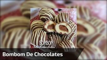 Bombom De Leite Ninho Com Nutella, Uma Maneira Fácil De Fazer Chocolates!
