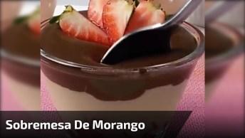 Bombom De Morango De Copinho, Fica Uma Delicia Essa Sobremesa!