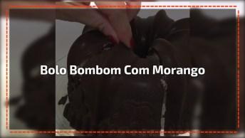 Bombom De Tigela Com Leite Condensado E Morango, Uma Delicia!