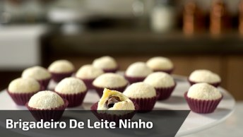 Brigadeiro De Leite Ninho Com Nutella, Uma Delicia De Docinho!