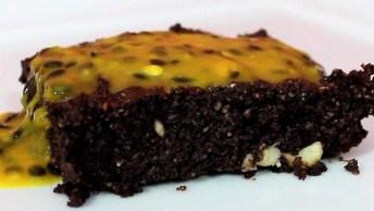 Brownie Lowcarb - Uma Receita Saudável E Super Saborosa, Confira!