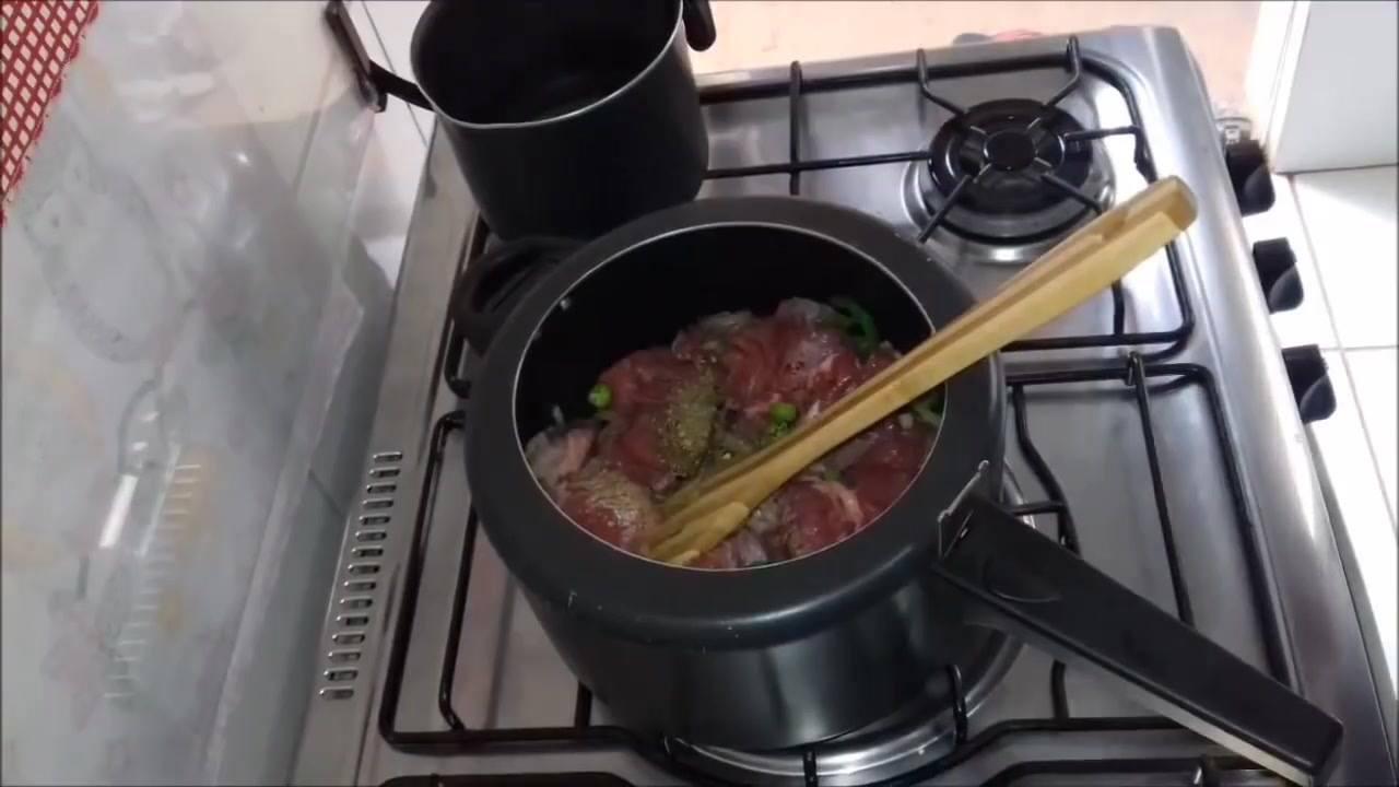 Carne cozida com mandioca, uma receita para seu almoço de amanhã!
