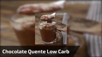 Chocolate Quente Low Carb, Uma Delicia Que Nem Parece Ser Sem Açúcar!