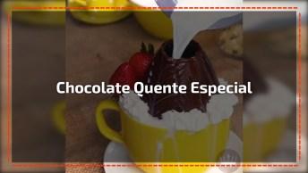 Chocolate Quente No Ovo De Páscoa, Mais Uma Novidade Para Você!