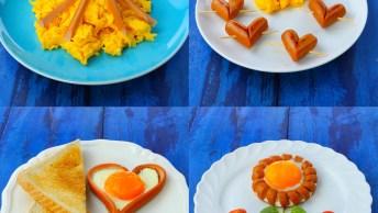 Como Deixar O Café Da Manhã Mais Divertido, São 4 Ideias Incríveis!