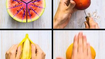 Como Descascar E Cortar Frutas De Maneira Correta, Dicas Muito Úteis!