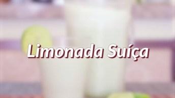 Como Fazer A Limonada Suíça? Aprenda Neste Vídeo E Refresque Nesse Verão!