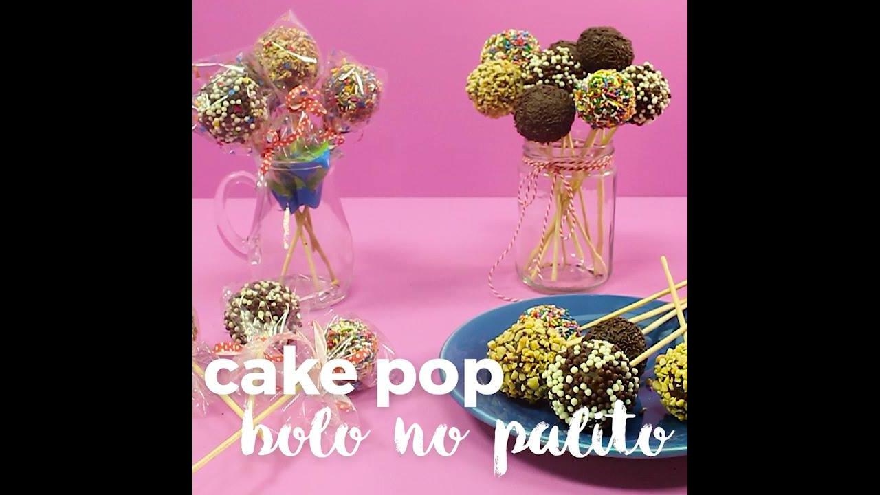 Como fazer bolo no palito? Veja que ideia incrível e depois compartilhe!