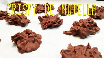 Como Fazer Crispy De Nutella, Com Apenas 3 Ingredientes!