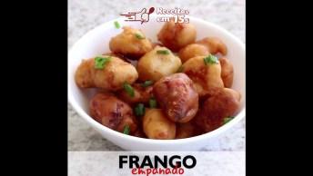 Como Fazer Frango Empanados Em Cubos, Uma Ideia Sensacional De Petisco!