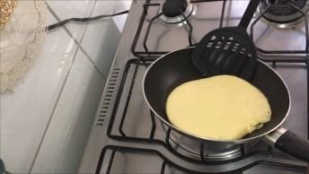 Como Fazer Pão De Queijo De Frigideira, Uma Delicia Para O Lanche Da Tarde!