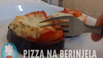 Como Fazer Pizza Na Berinjela - Uma Receita Muito Boa, Confira!