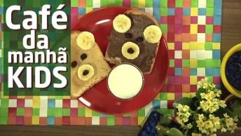 Como Fazer Um Café Da Manhã Infantil, Divertido, Saudável E Gostoso!