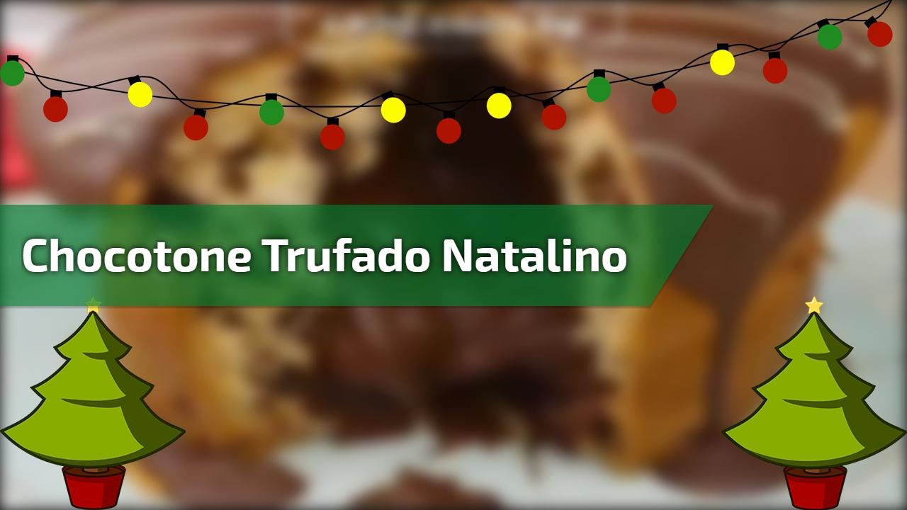 Chocotone Trufado natalino