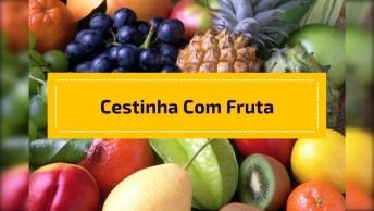 Como Fazer Uma Cestinha Com Fruta Para Servir Outras Frutas?
