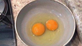 Como Fritar Um Ovo Com Azeite Ou Óleo De Coco, Ele Fica Perfeito!