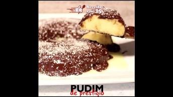 Como Preparar Um Delicioso Pudim De Coco Com Chocolate? Muito Bom!