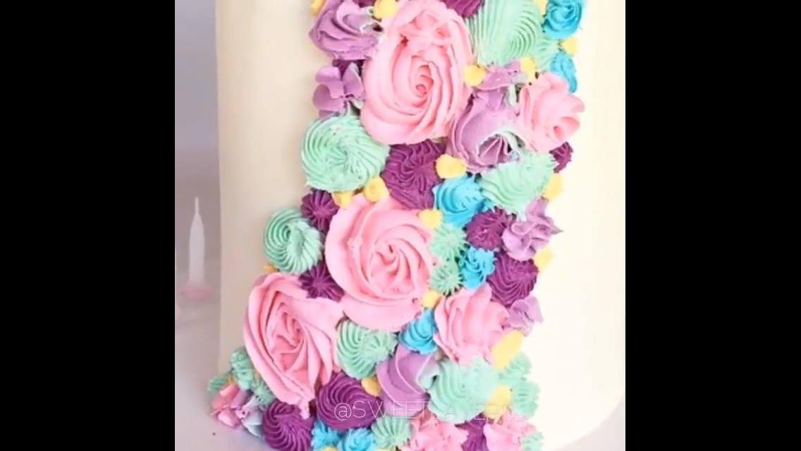 Compilação de videos de bolos decorados