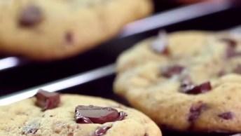 Cookie De Chocolate Meio Amargo, Bolachinhas Caseiras Que Vão Te Conquistar!