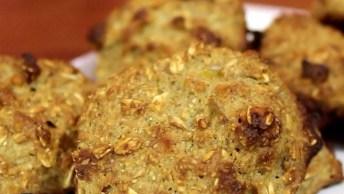 Cookie Fácil De Granola, Uma Boa Ideia Para Disfarçar A Fome!