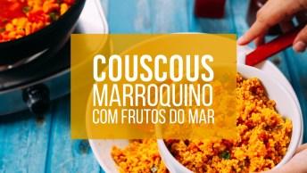 Couscous Marroquino Com Frutos Do Mar, Super Fácil De Preparar!