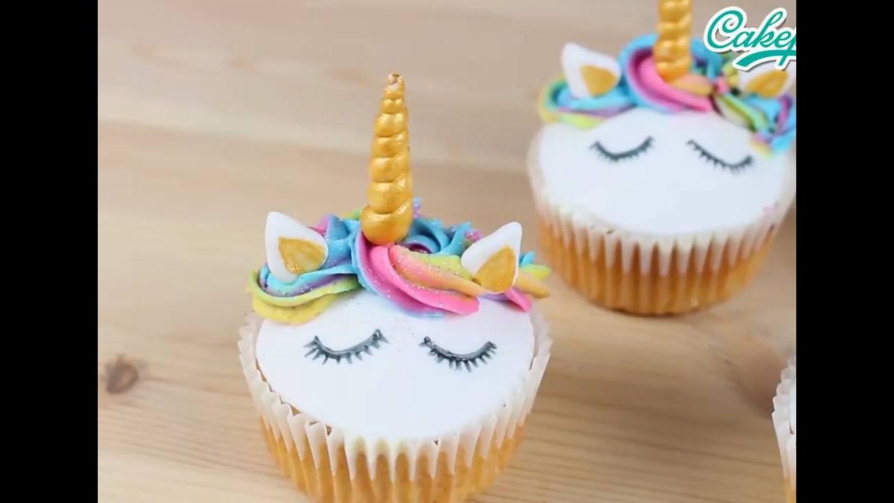 Cupcake Unicórnio - Sua festa ainda mais fofa e linda
