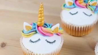 Cupcake Unicórnio - Sua Festa Ainda Mais Fofa E Linda, Confira!