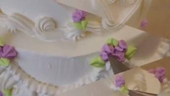 Decoração De Bolo Para Casamento, Um Bolo Perfeito Para Um Dia Perfeito!