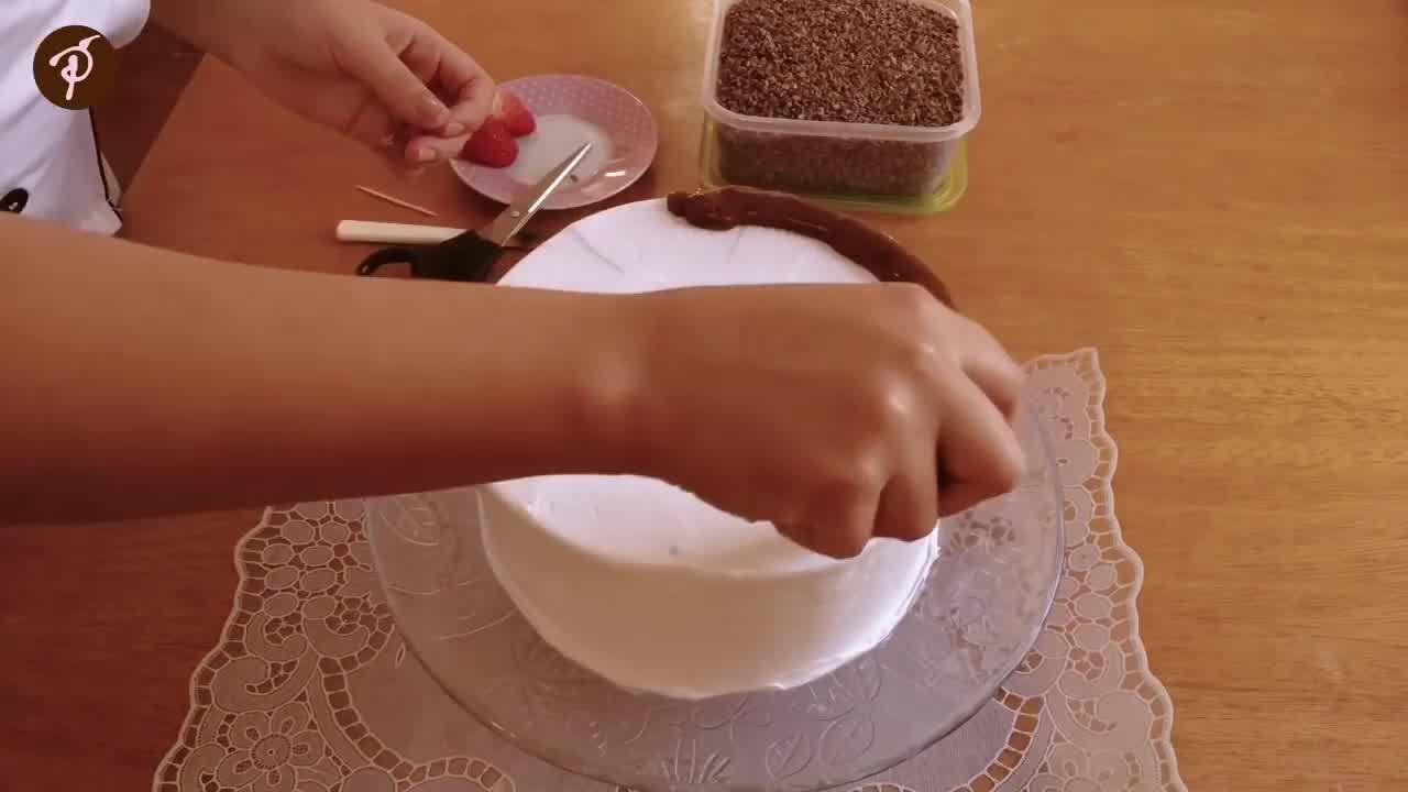 Decoração de bolo para iniciantes