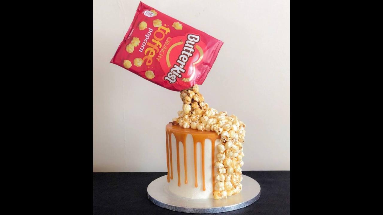 Decorações de bolos criativas