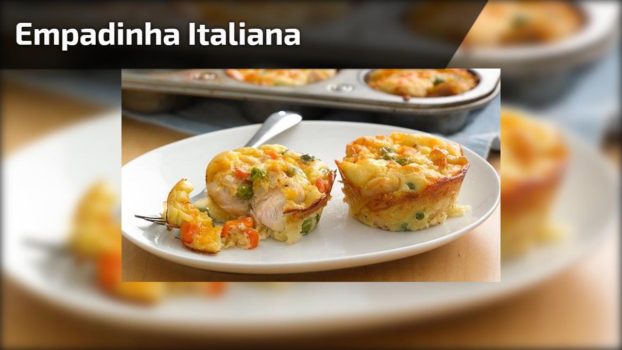 Empadinha Italiana