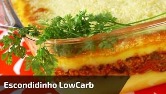 Escondidinho De Carne Lowcarb - Mais Uma Receita Para Você Aprender!