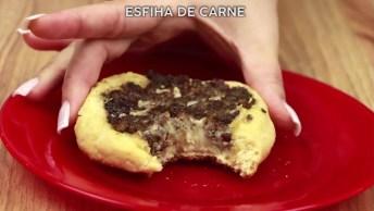 Esfirra Aberta De Carne - Aprenda Neste Vídeo A Fazer Na Sua Casa!