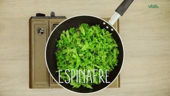 Filé Mignon Suíno Recheado Com Espinafre, Com Leve Toque De Linguiça Italiana!