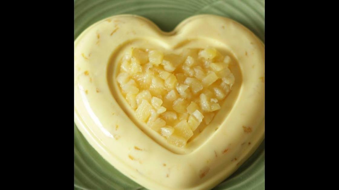 Gelado de Abacaxi, uma ideia de doce bem saborosa