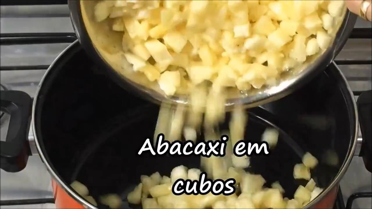 Gelado de Abacaxi, uma sobremesa deliciosa e fácil de fazer