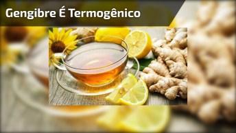 Gengibre - Termogênico, Ajuda O Sistema Digestivo, Respiratório E Circulatório!