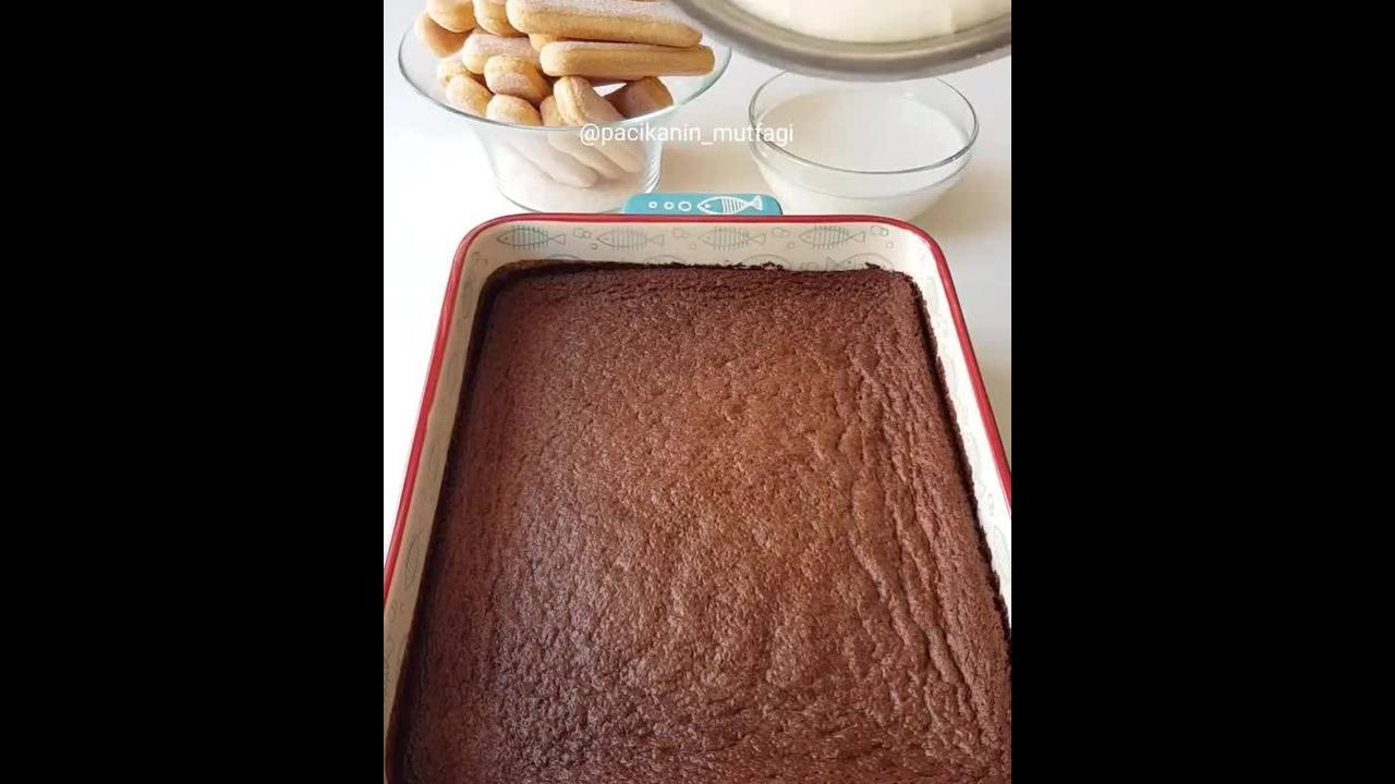 Ideia para fazer pavê com bolo de chocolate