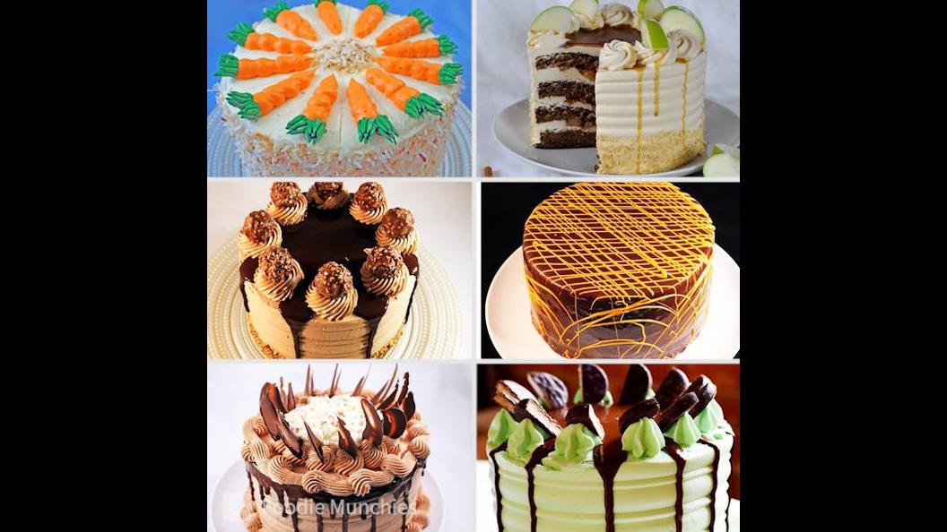 Ideias de bolo confeitados, confira que resultados lindos