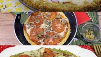 Ideias De Pizzas Saudáveis Para Aprender A Fazer E Não Sair Da Dieta!