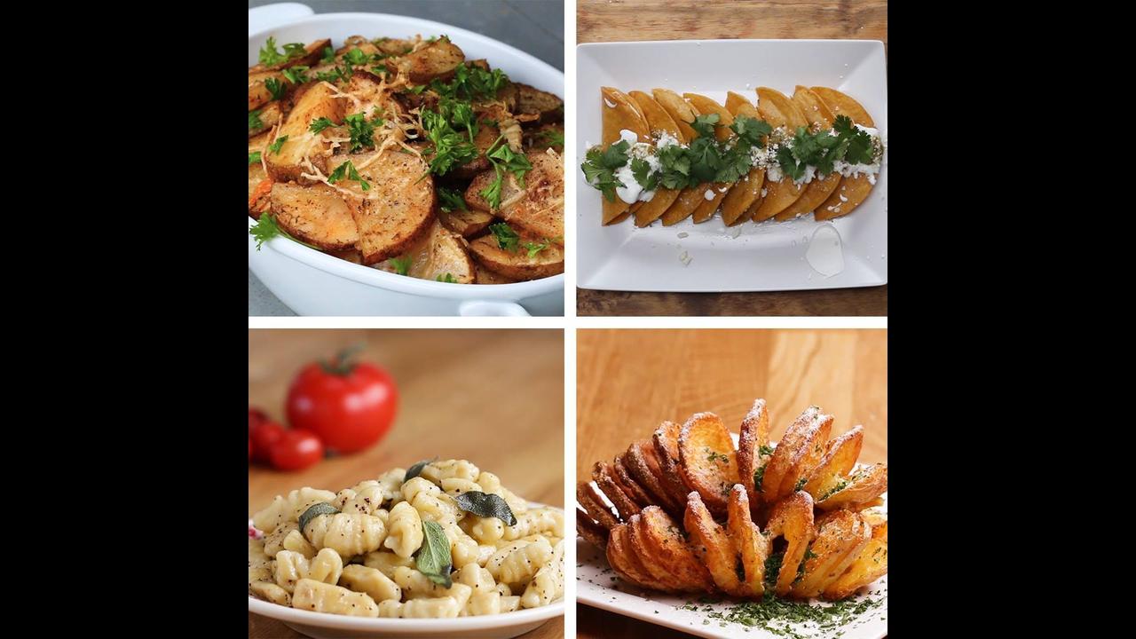 Ideias de receitas para fazer com batatas